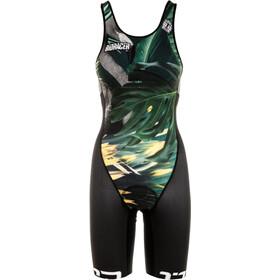 Bioracer Bathing Traje Triatlón Mujer, negro/Multicolor